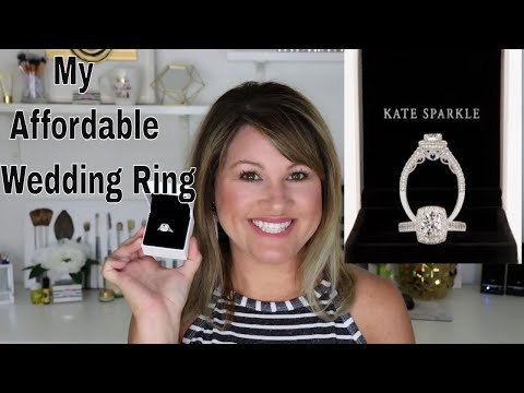 Where to Buy Affordable Wedding Rings| Kate Sparkle Review