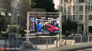 Formula 1 Baku Tarkan 23.06.2017