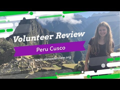 Peru Cusco Review Margaret Jones Childcare Program