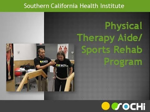 Physical Therapy Aide Certificate Program - YouTube