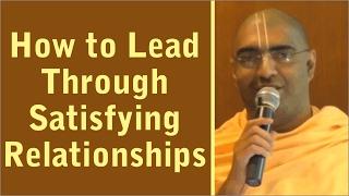 Seminar on How to Lead Through Satisfying Relationships by Shubha Vilas Prabhu on 9th Dec 2016 Pune
