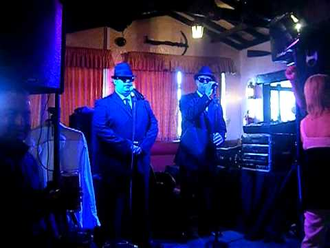 eddie soulfinger & marcus at the swash the blues brothers
