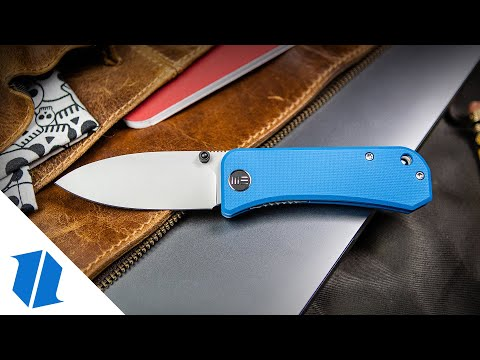 "WE Knife Co. Banter Liner Lock Knife Blue G-10 (2.9"" BB/SW)"