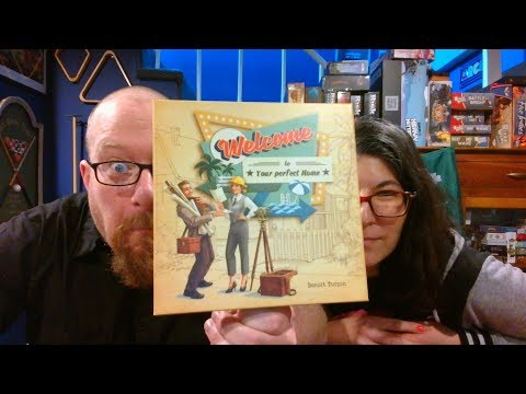 The Board Game Kaptain's review and tutorial for Welcome to