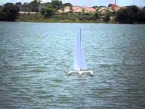 Nightmare X on foils - Mini40/F-48 Trimaran