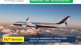 Get Best and Low Cost Medivic Road Ambulance in Patna
