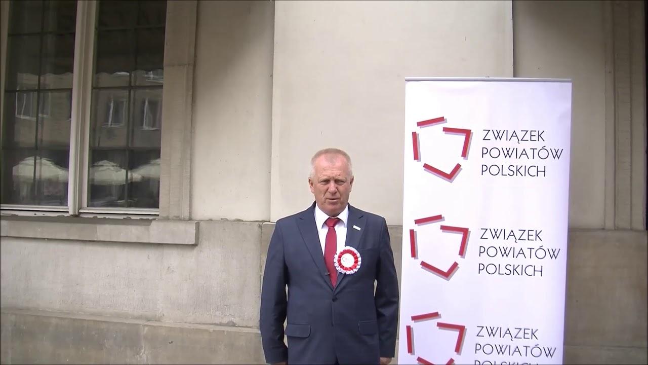 Starosta Krzysztof Fedorczyk podczas Zgromadzenia Jubileuszowego ZPP