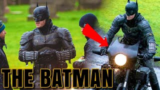 The Batman (2021) FOOTAGE Leaked Full Batsuit + BatBike