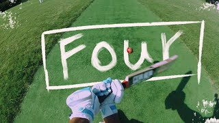 GoPro Cricket Batting - Six Runs Needed to WIN the Match!