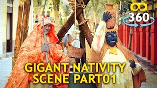 Nativity Scene 360º 4K #VirtualReality #360Video #VR #360 Part 01