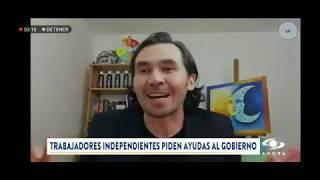 EL ACTOR JONAS RUIZ EN CARACOL NOTICIAS