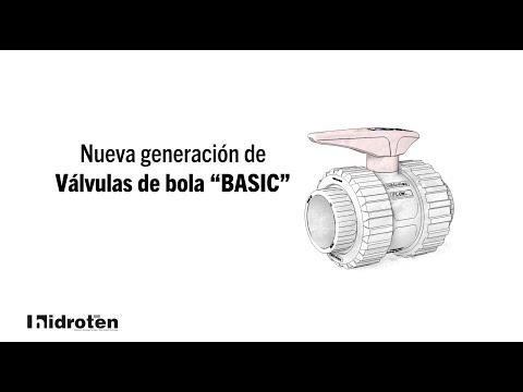 """Nueva válvula de bola """"Basic"""""""