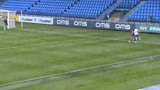 preview picture of video 'FK Senica vs 1.FC Tatran Prešov  U19  0:1  24/8/2014'