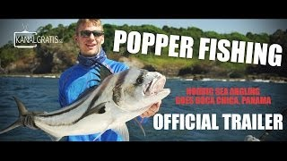 More Nordic Sea Angling Popping Video at PSFL
