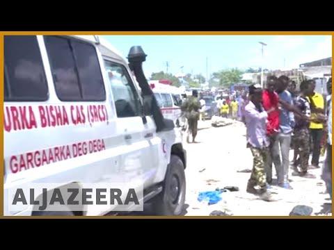 🇸🇴 Somalia: Suicide bomb attack hits school and offices in Mogadishu | Al Jazeera English