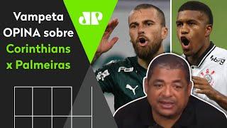 'O time B do Palmeiras é mais forte que o Corinthians', diz Vampeta
