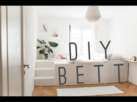 DIY - BED - Selfmade Podest-Bed - Podest-Bett