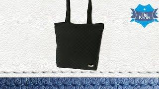 Женская стеганая черная сумка купить в Украине - обзор