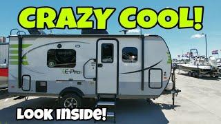 Super Compact And Cool E-Pro Travel Trailer!
