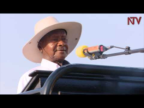 President Museveni launches internet backbone for Teso region
