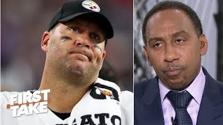 Stephen A. reacts to Ben Roethlisberger injury news: It's over for the Steelers   First Take