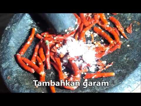 Video Resep cara membuat ayam rica rica lezat