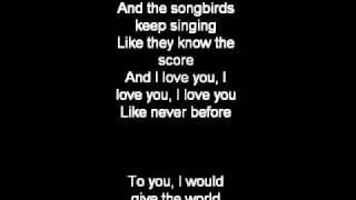 Songbird- Eva Cassidy ( lyrics, cover)