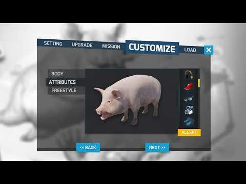 好ㄎ一ㄤ衝刺!! 豬突猛進模擬器