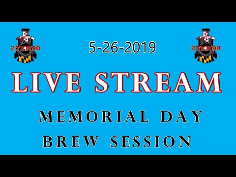 Brew Day Live Stream - Come say hi and meet great creators!