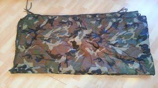 Mil-Tec US Style Poncho Liner Woodland