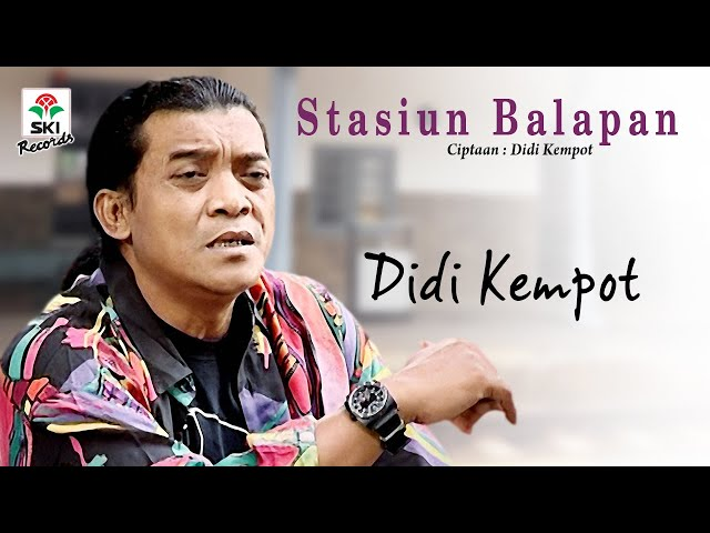 Didi Kempot - Stasiun Balapan (Official Music Video)