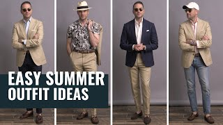 5 EASY & Stylish Summer Outfits For Men | Mens Style & Summer Lookbook 2020