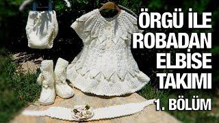 Örgü ile robadan kız elbise takımı - 37. Model (1/5) ● Örgü Modelleri