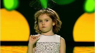 Obejrzyj występ uroczej Kasi i jej wierszyk o ... brudzie [Mali Giganci]