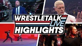 WWE SmackDown, Raw, NXT & AEW Dynamite Highlights (Nov. 10, 2019) | WrestleTalk Live