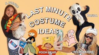 DIY LAST MINUTE HALLOWEEN COSTUMES 2018| 5 EASY COSTUME IDEAS