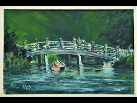 Thumbnail of Bridge near Bridge Cottage, Flatford Mill. (oil painting demonstration)