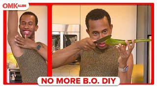 Kalen DIYs Deodorant and a Soothing Aloe Face Mask