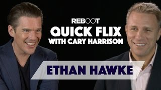 Smart Like A Hawke - Ethan Hawke Full Interview On His New Movie Predestination