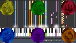 Ocarina of Time Warp Songs Piano Medley