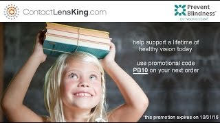 Contact Lens King Partners with Prevent Blindness