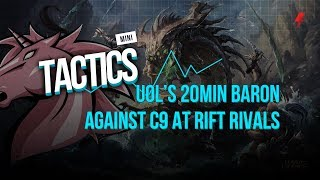 How Unicorns of Love pulled off a 20 min Baron against C9 at Rift Rivals