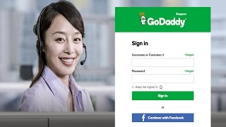How to create a godaddy account