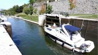 preview picture of video 'Rideau Canal Ottawa, Canada'