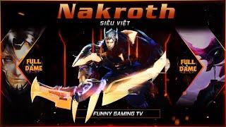 LIÊN QUÂN   Tại sao khi dùng Nakroth - FUNNY ít khi nào ăn Bùa Đỏ rồi qua mượn Bùa Xanh   SEA GAMES