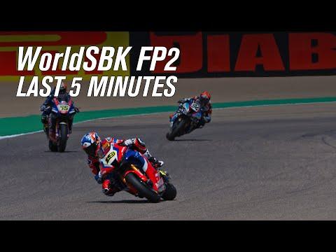スーパーバイク世界選手権 SBK 第1戦アラゴン モーターランド・アラゴン FP2ハイライト動画