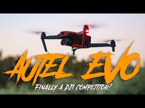 Autel EVO Drone Review: 4K 60FPS, Ludicrous Mode, Great Dynamic Range. Finally a DJI competitor?