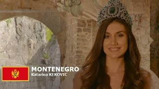 Katarina Kekovic Contestant from Montenegro for Miss World 2016 Introduction