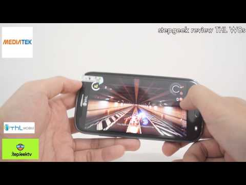 StepGeek Review THL W8s Full HD Ram2G ในจอ 5 นิ้ว โหดสุดใน cpu mediatek ตอนนี้