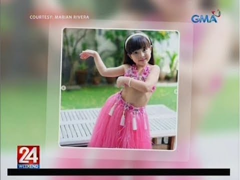 24 Oras: Zia Dantes, cute na cute sa kanyang pink luau costume